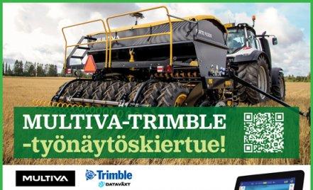 Tervetuloa MULTIVA & Trimble -työnäytöskiertueelle!