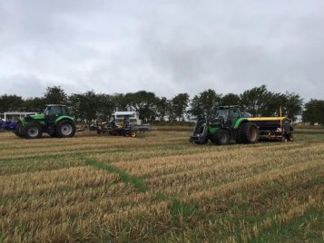 Our colleagues in Denmark were busy this autumn with presenting Multiva TopLine Super XL s-tine harrows and Forte FX no-...