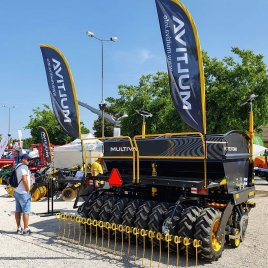 Multiva Forte FX300 no-till seeder, the crown jewel of our stand at Bábolna agricultural exhibition in Hungary this week...